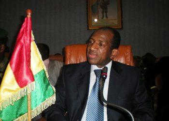 L'ancien Premier ministre guinéen Kabiné Komara. Photo d'archives — ©DR